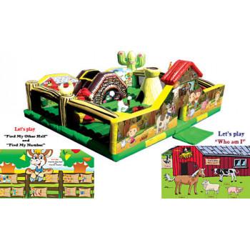 My Little Farm Playground Bouncer