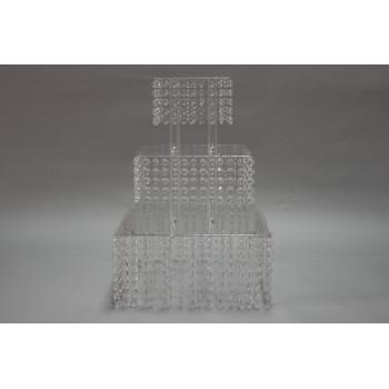 Crystal Base 3 floors (Square)