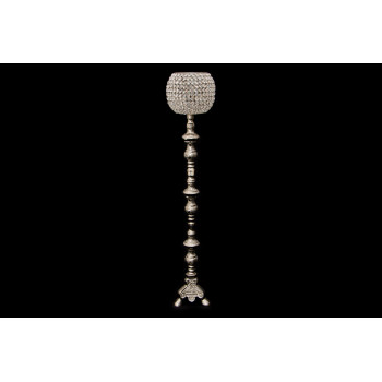 "Crystal Goblet 35"" (Silver)"
