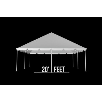"""Tent 20""""x 40"""" (Clear)"""