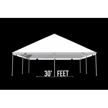 """Tent 30""""x 60"""" (Clear)"""