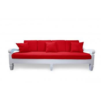 Maze Sofa 8' (Red)