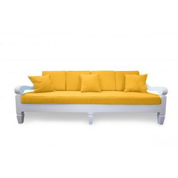 Maze Sofa 8' (Yellow)