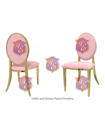 Tiffany Chair (Gold-Pink)