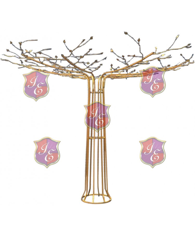 Metal Wire Tree (Gold)
