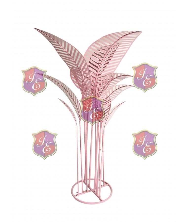 Metal Palm Tree (Pink)