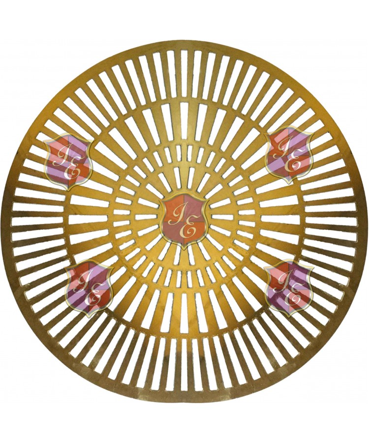 Spinner Charger Plate (Gold)