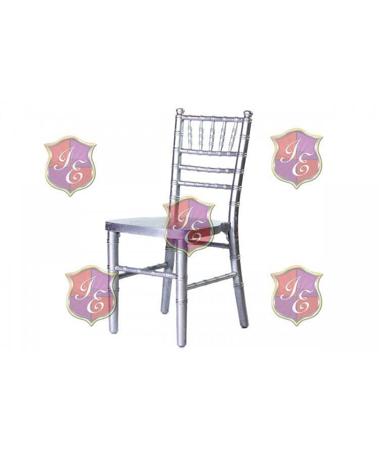 Kid Chiavari Chair (Silver)