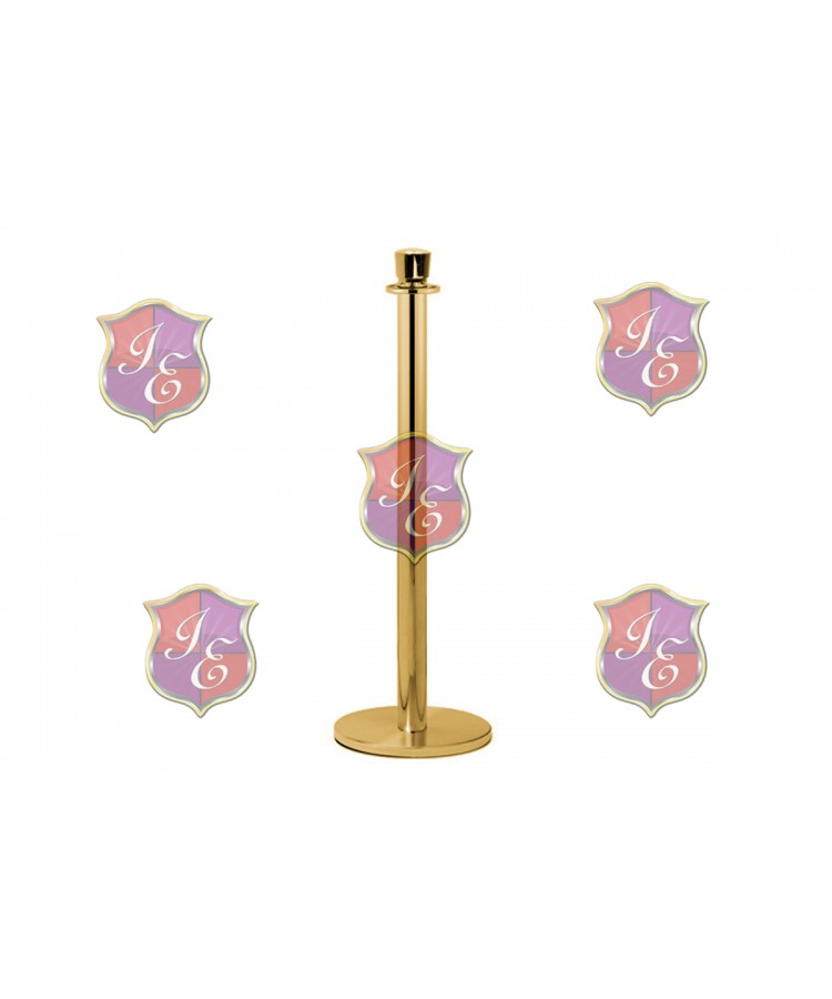 Stanchion Pole (Gold)
