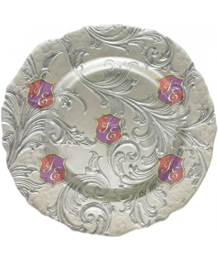 Vanessa Charger Plate (Silver)