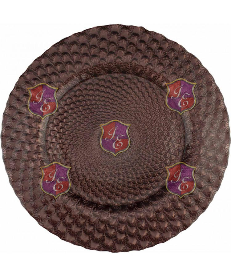 Luxe Charger Plate (Brown)