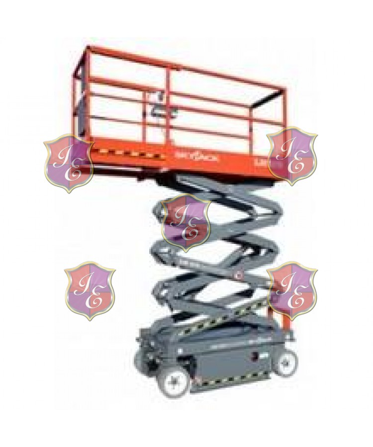 Scissor Lift, 20 ft.-21 ft., Electric Powered, Power Deck Extension