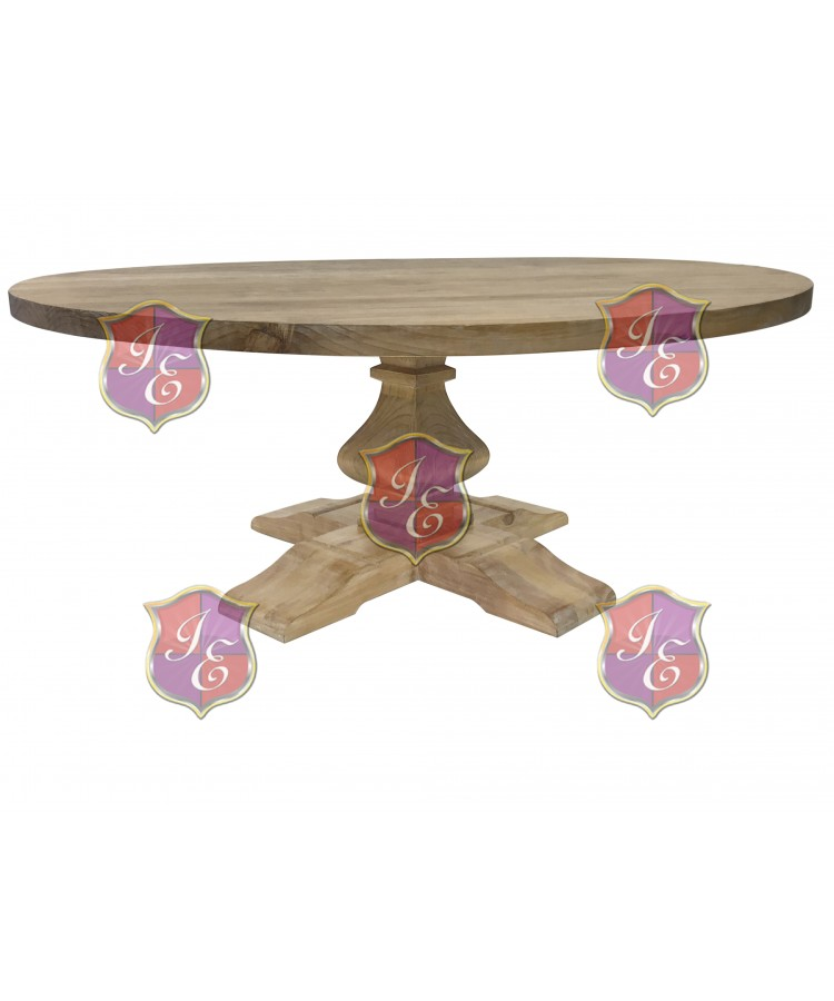 Tuscan Dining Table (Round) (All Wood)
