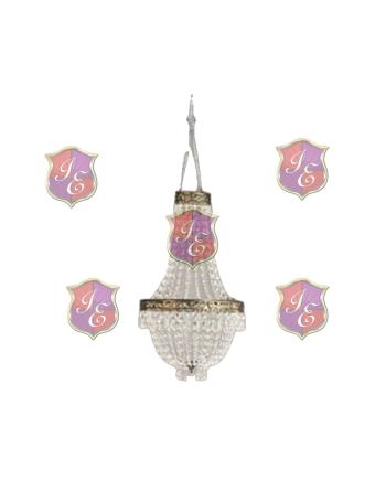 Acrylic Crystal Chandelier Small