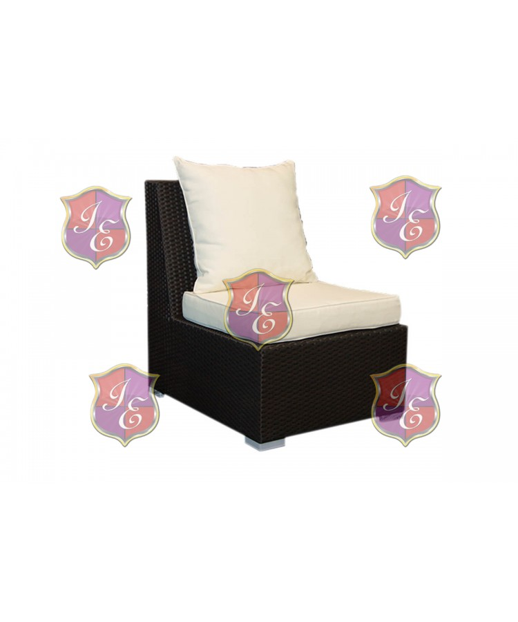 Rattan Single Chair (Mocha)