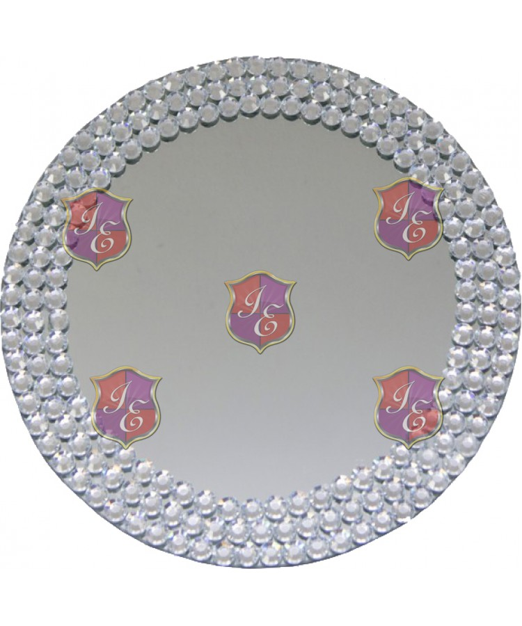 Lady Collar Charger Plate (Mirror)