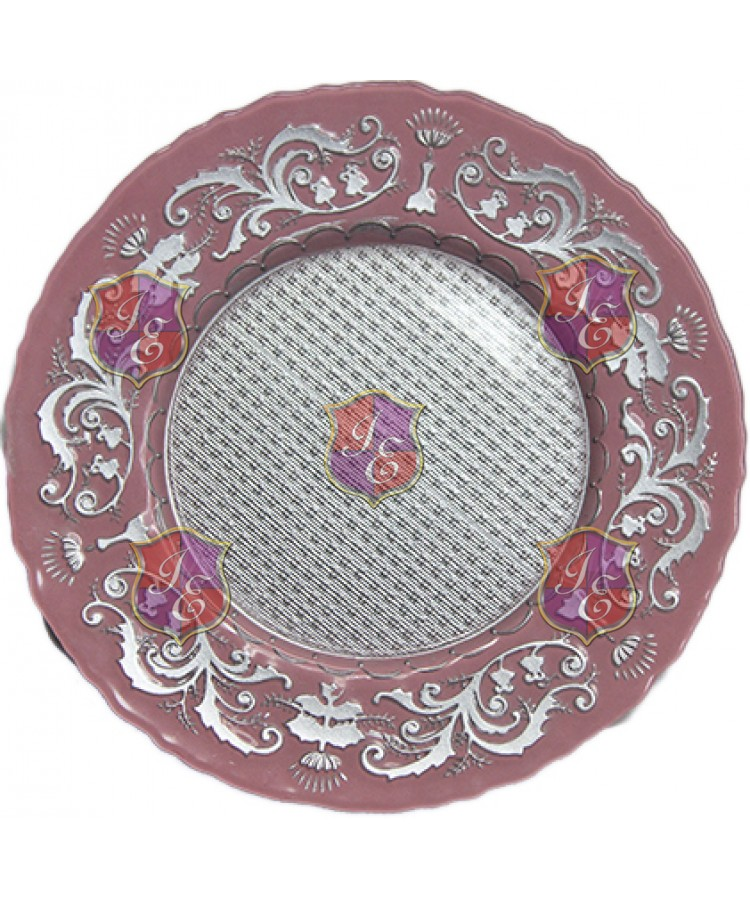Dulcinea Charger Plate (Pink)