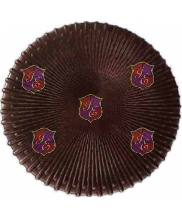 Mocha Charger Plate