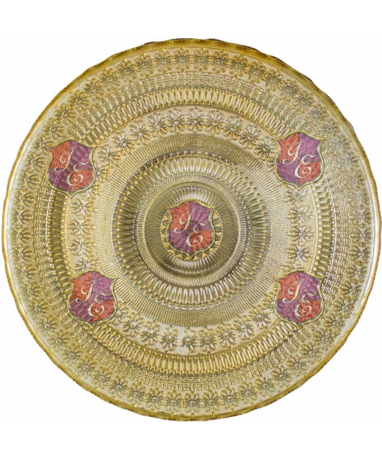 Agra Charger Plate (Gold)