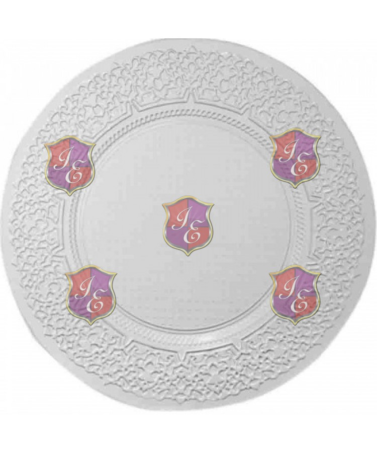 Lace Charger Plate (Clear)