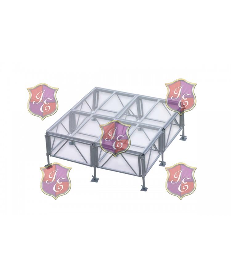 Acrylic Stage Rental 4'x4'