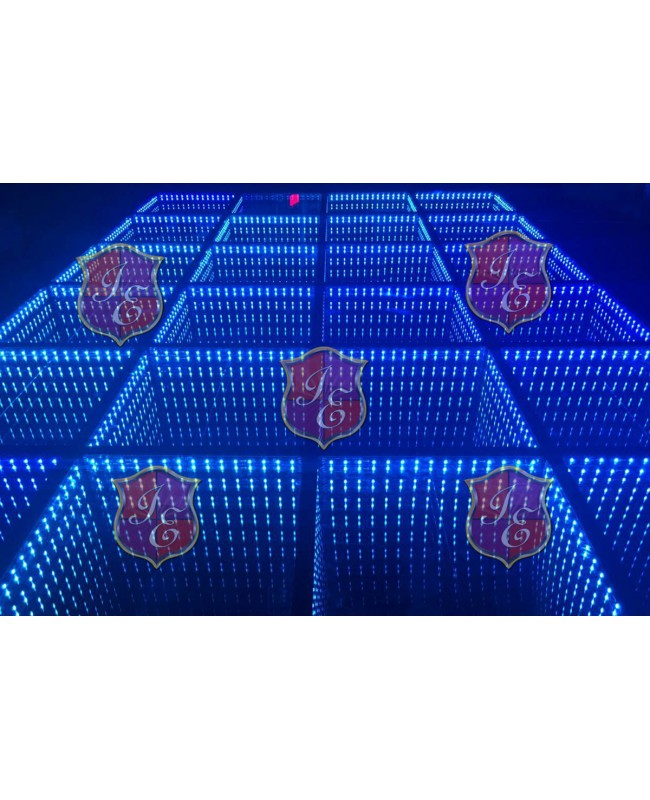 Dance Floor Mirror LED (Glass) (Price per square foot)