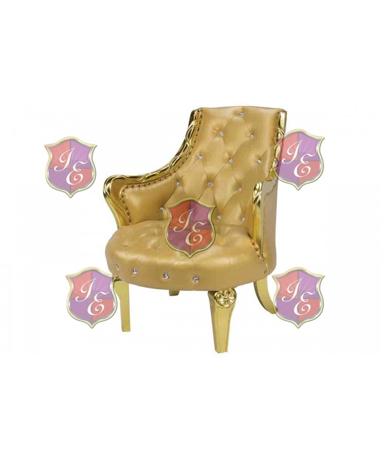 Empress Royal ArmChair (Gold)
