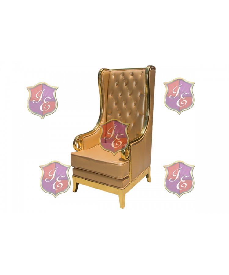 Empire ArmChair (Gold)
