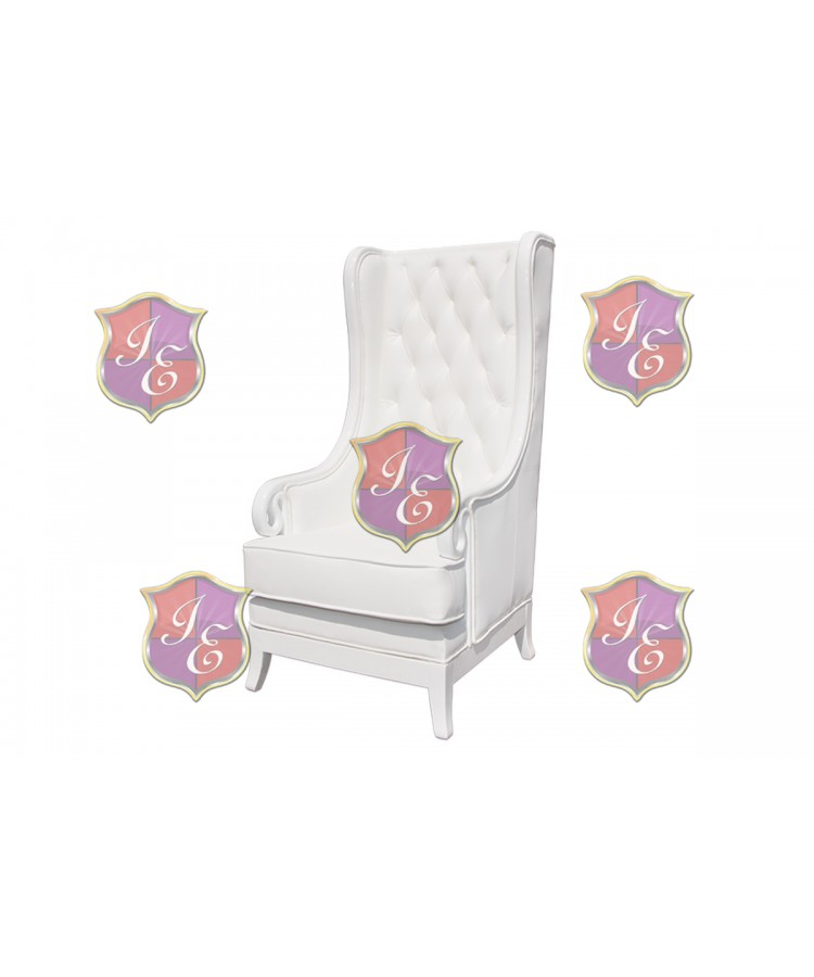 Empire ArmChair (White)