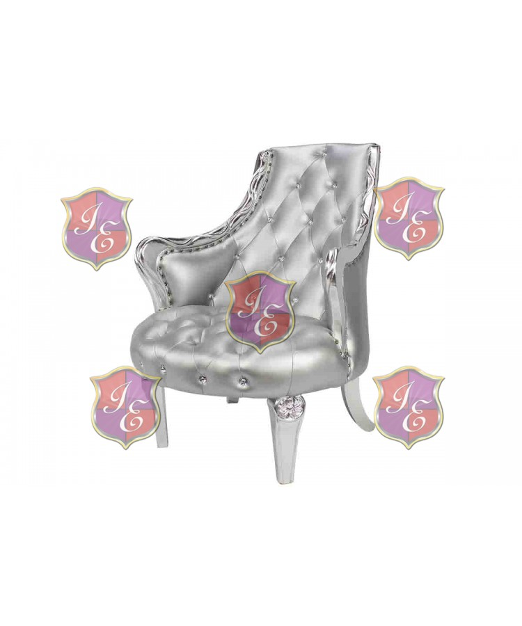 Empress Royal ArmChair (Silver)