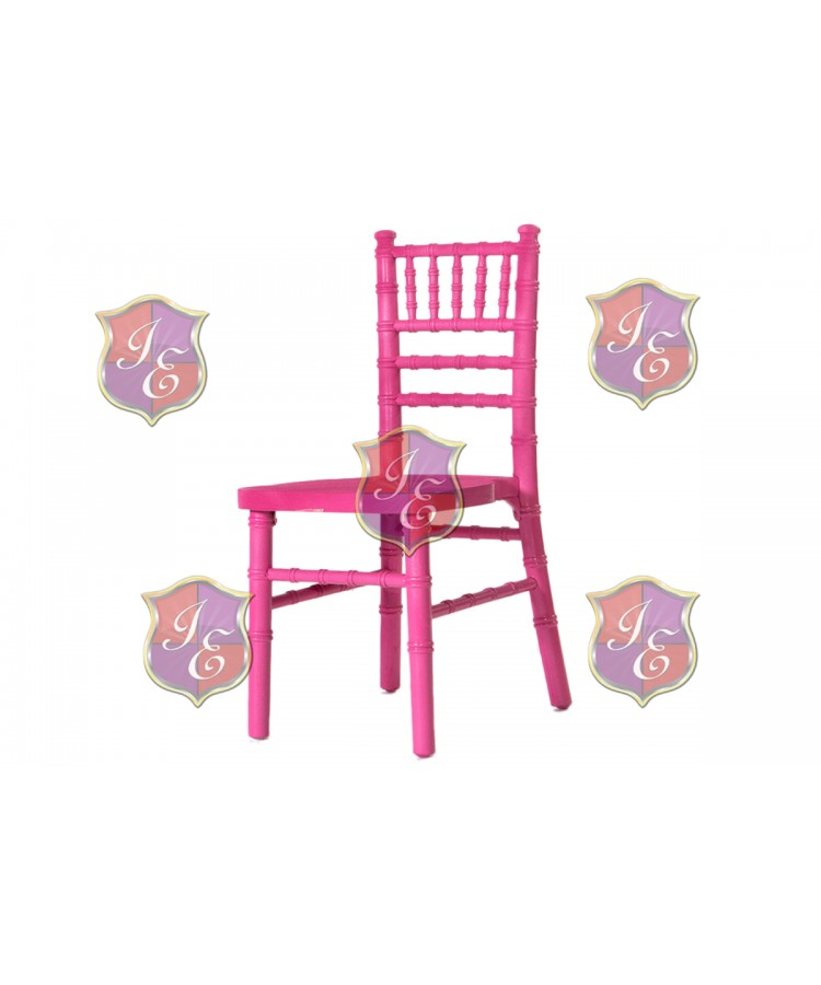 Kid Chiavari Chair (Hot Pink)