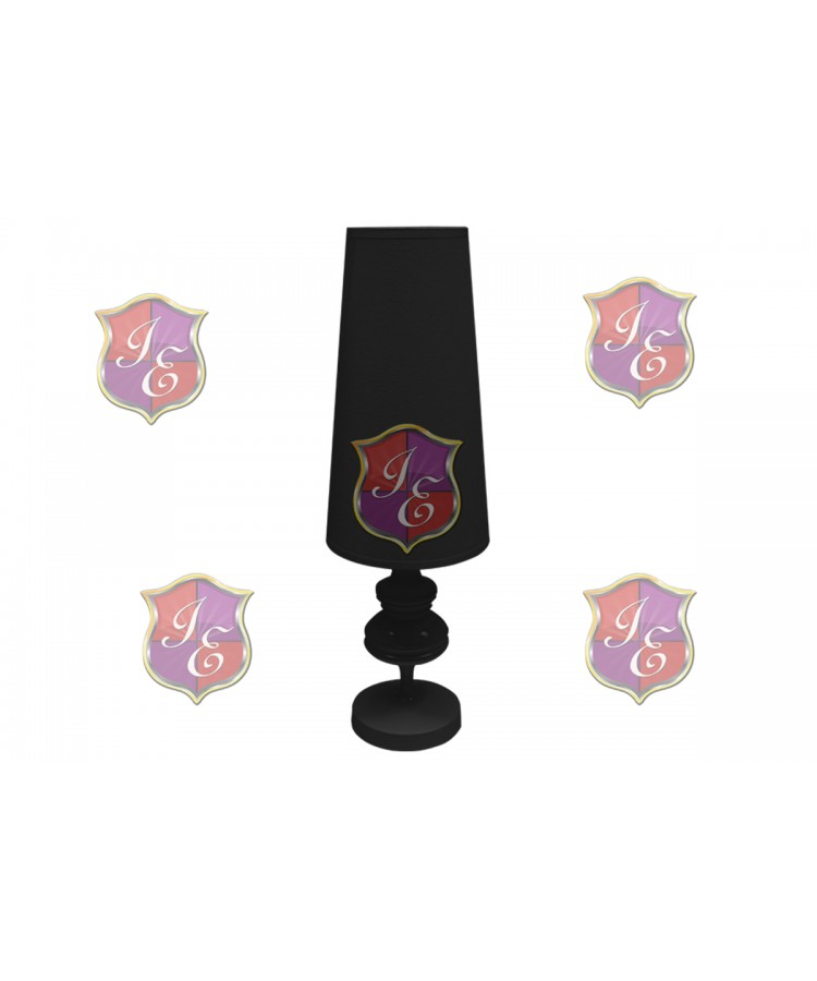 Glam Lamp (Small) Black