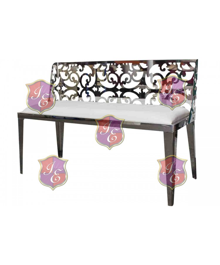 Reflection Love Seat Laser Cut (Silver)