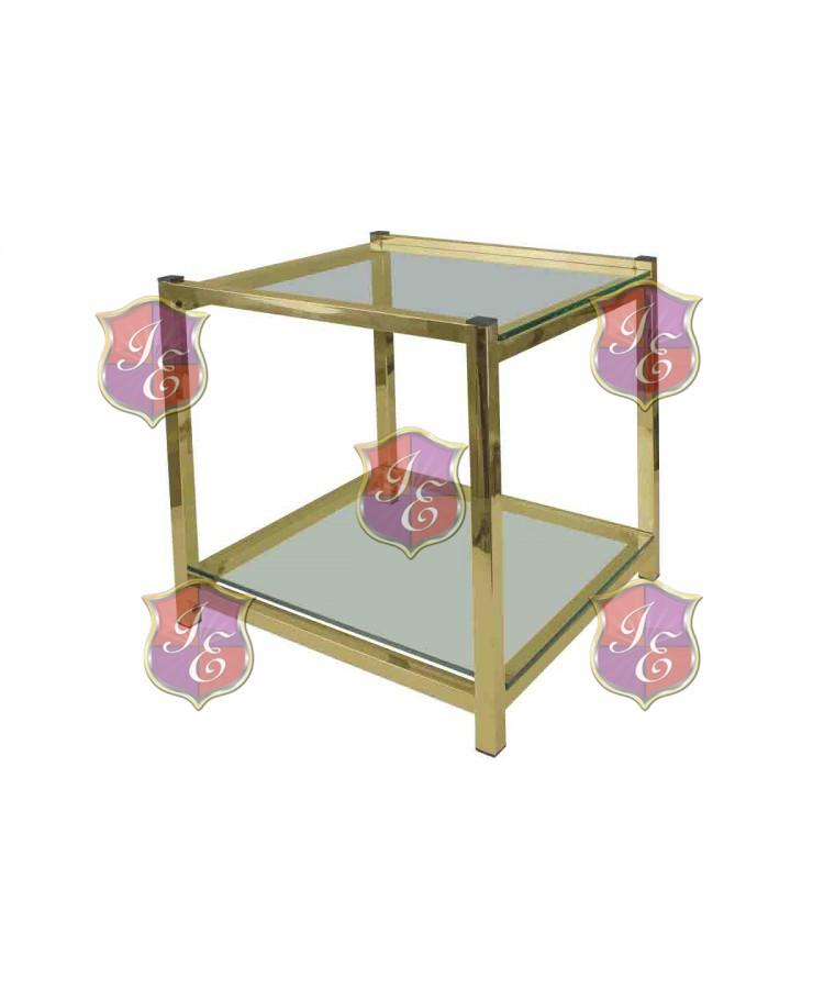 Reflection End Table Regular (Gold)