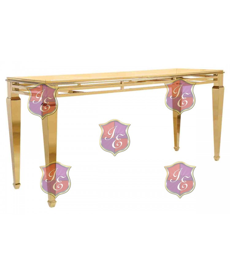 """Reflection HighBoy Table (Gold) 30"""" x 96"""""""