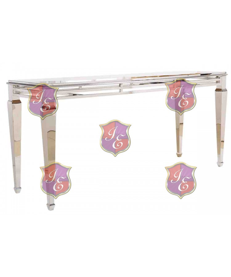 """Reflection HighBoy Table (Silver) 30"""" x 96"""""""