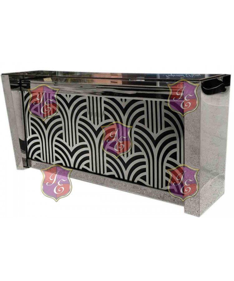 Reflection Bar 8' (Art Deco) Silver Extravaganza