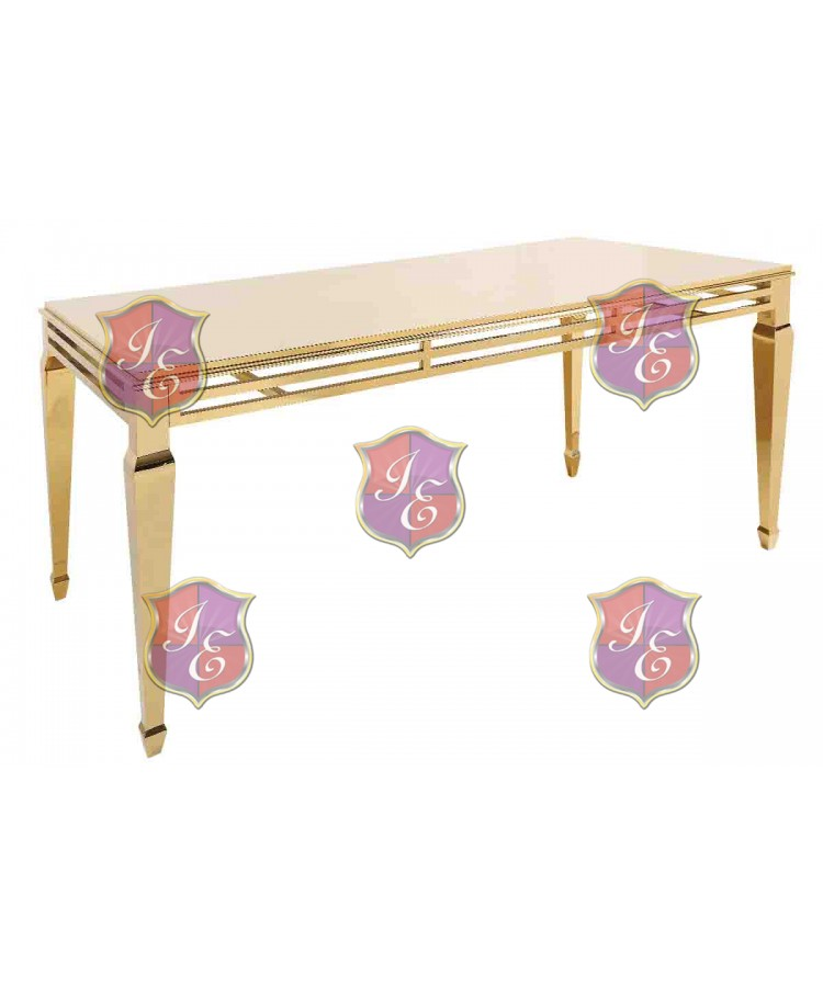 """Reflection HighBoy Table (Gold) 48"""" x 96"""""""