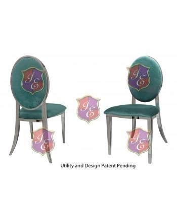 Tiffany Chair (Silver-Tiffany)