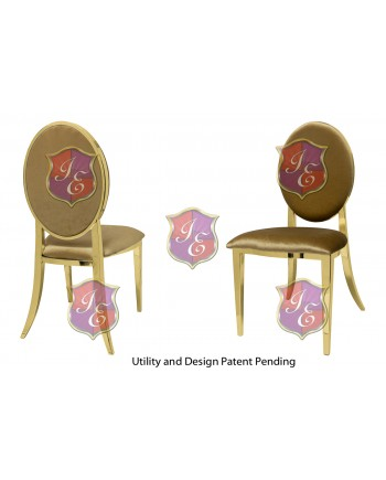 Tiffany Chair (Gold-Gold)