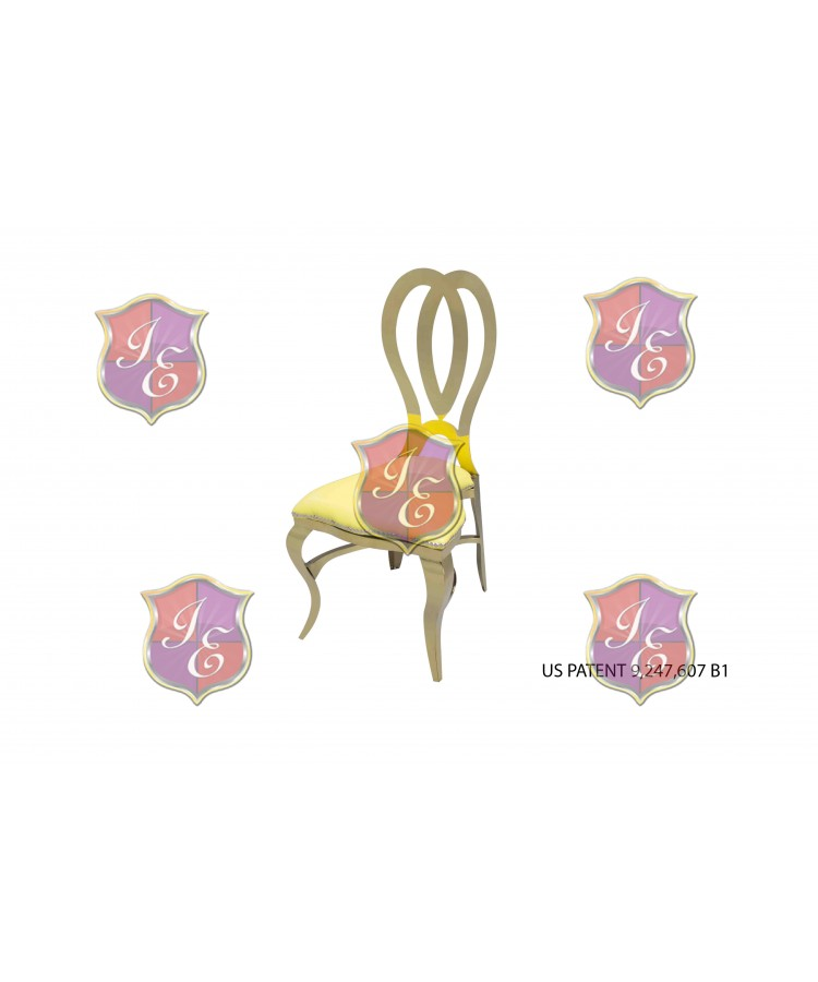 Halexandria Chair (Gold-Yellow)