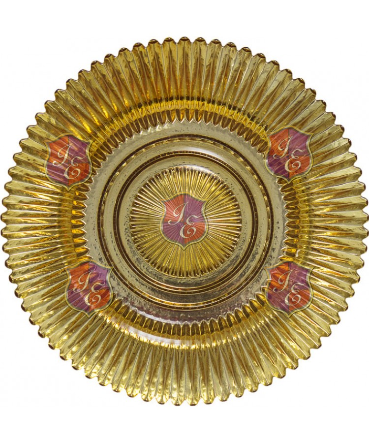 Hypnosis Charger Plates (Gold)