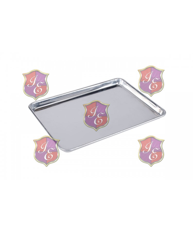 "Half Size 18"" x 13"" Stainless Steel Sheet Pan"