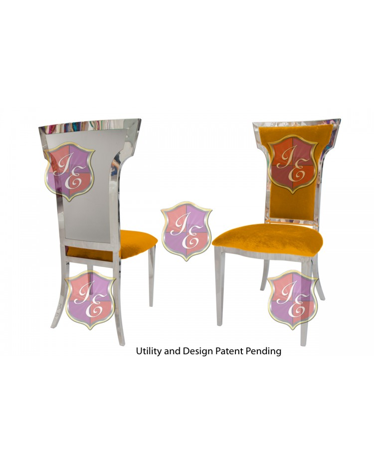 Reflection Chair Wings (Silver-Yellow)