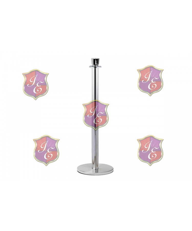 Stanchion Pole (Silver)