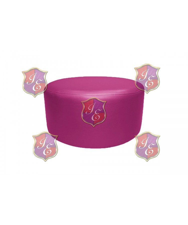 "Soho Coffee Table 30""  (Round)(Hot Pink)"