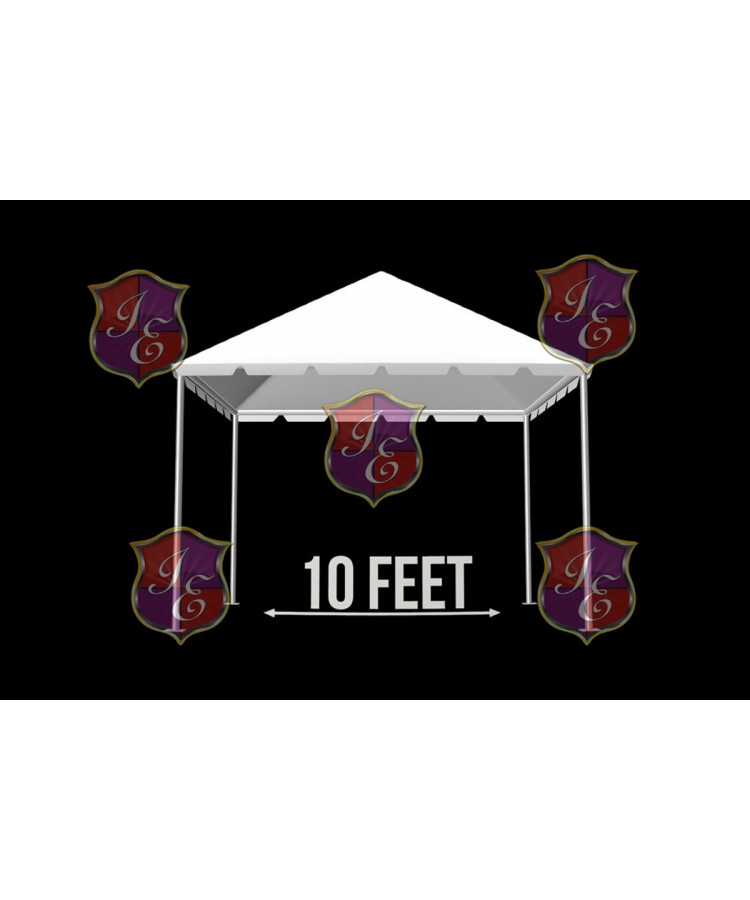 """Tent 10""""x 20"""" (Clear)"""