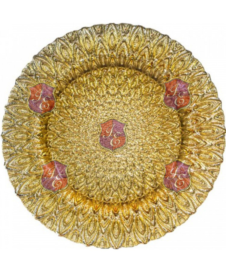 Ritz Charger Plate (Gold)