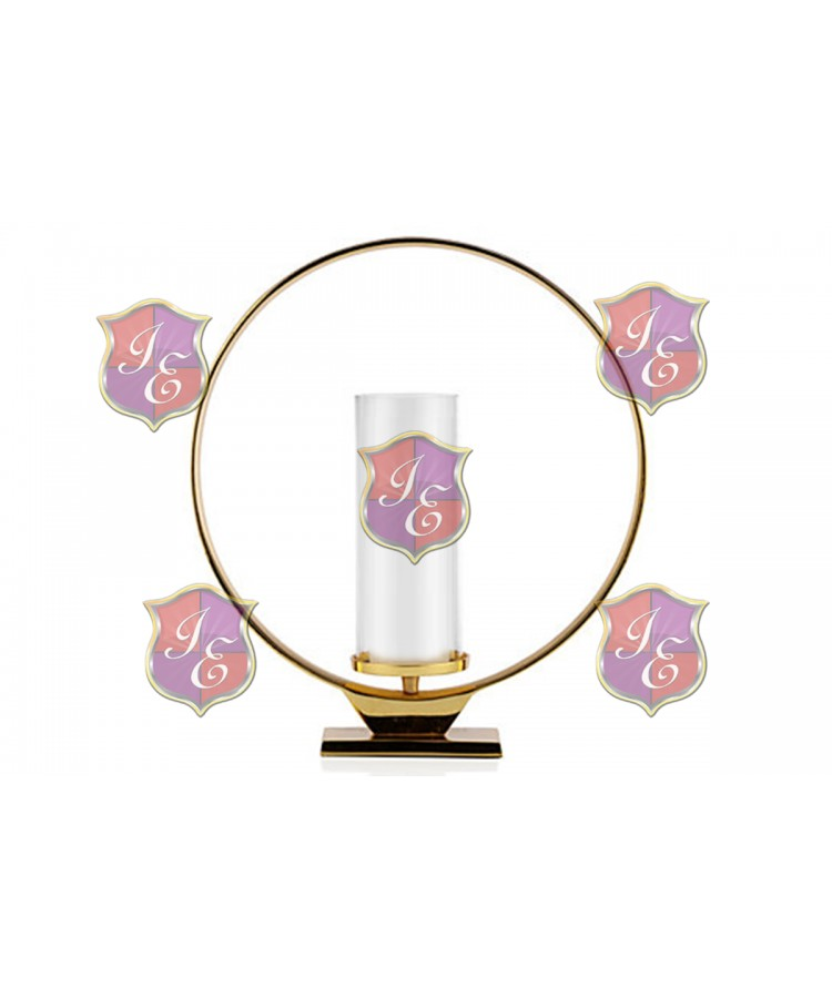 Ring Candle Holder Gold (Large) ,centerpieces.