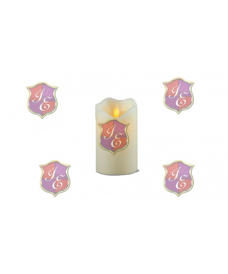 Pillar Candle (Medium),Moving Flame Effect